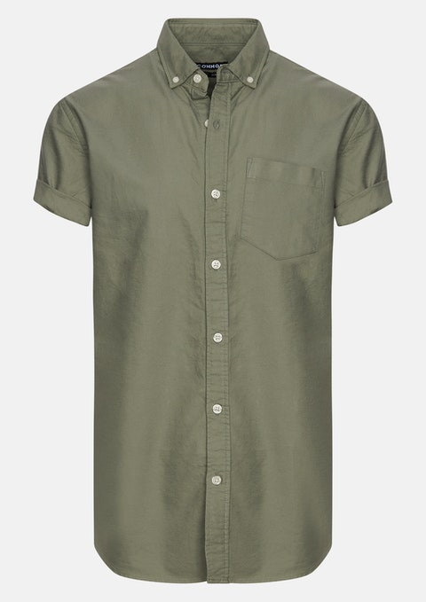 Green Chapson Slim Shirt