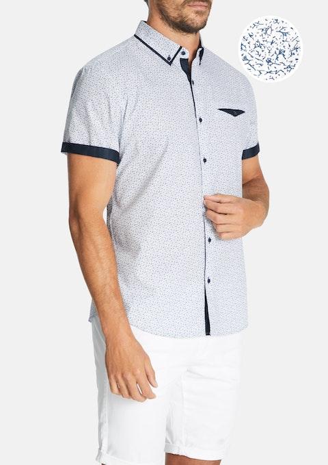 White Lauro Slim Shirt