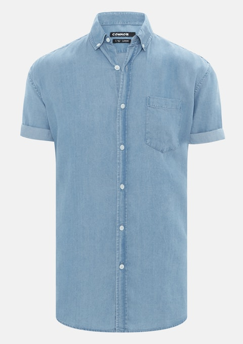 Light Blue Harlen Shirt