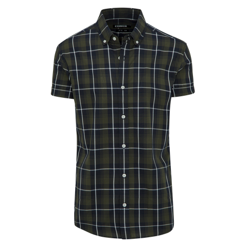 Military Angus Slim Shirt by Connor