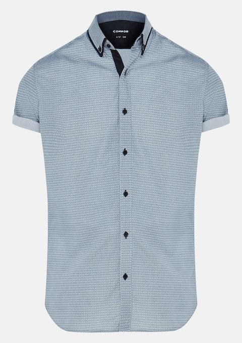 White Christian Slim Shirt