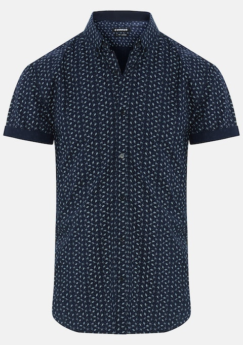 Navy Tyrone Shirt