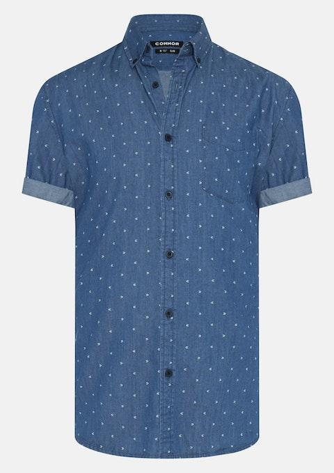 Denim Kayne Print Shirt