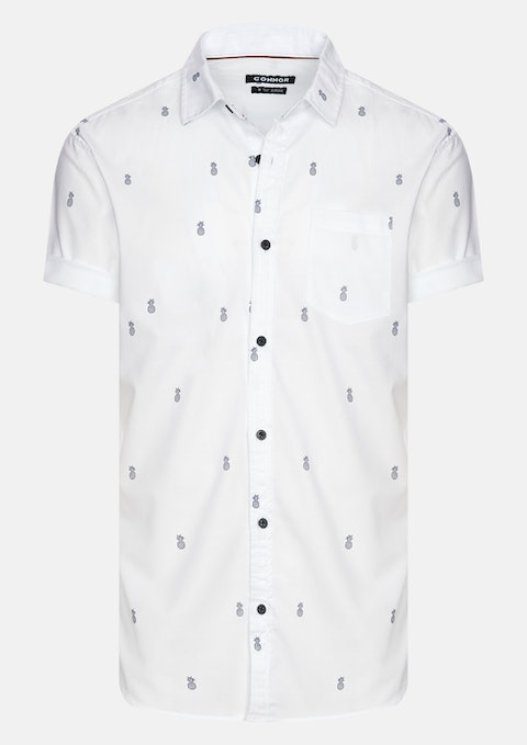White Pineapple Shirt