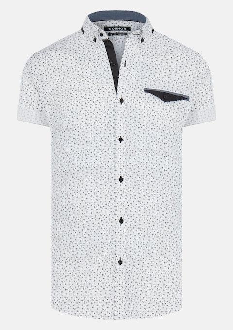 White Driver Shirt