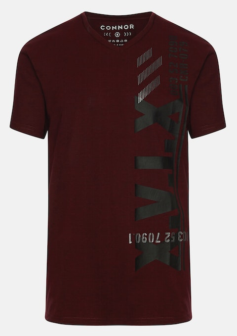 Wine Scout V Nk Tee