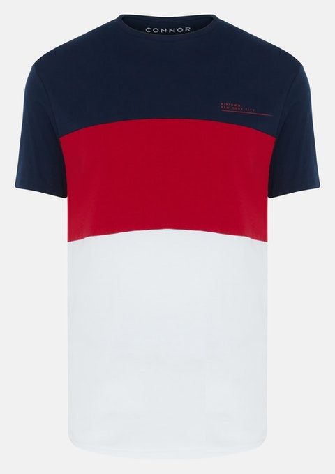Red Dillon Crew Tee