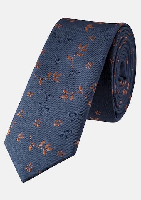 Rust Jacquard 5cm Tie