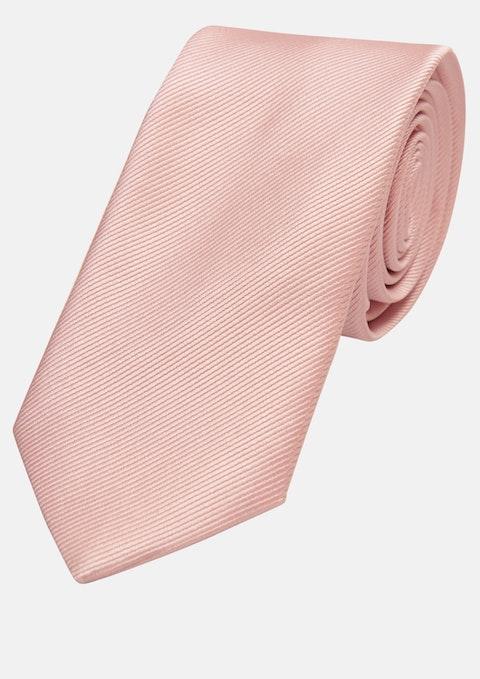 Pink Plain 6cm Tie