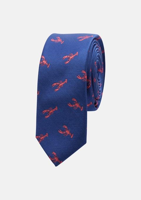 Blue Lobster 5cm Tie