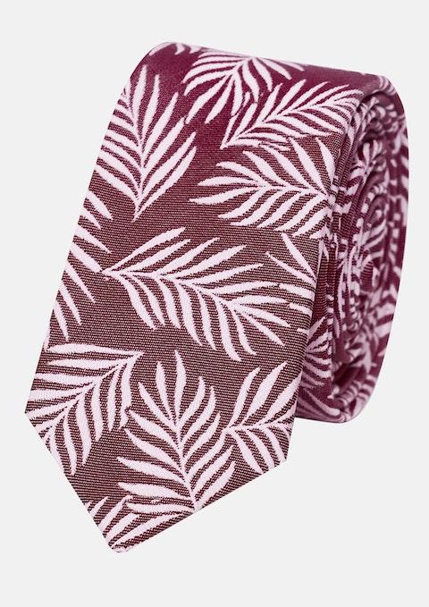 Dusty Pink Palm 5cm Tie