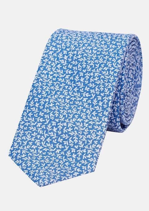 Navy Ditsy 6cm Tie