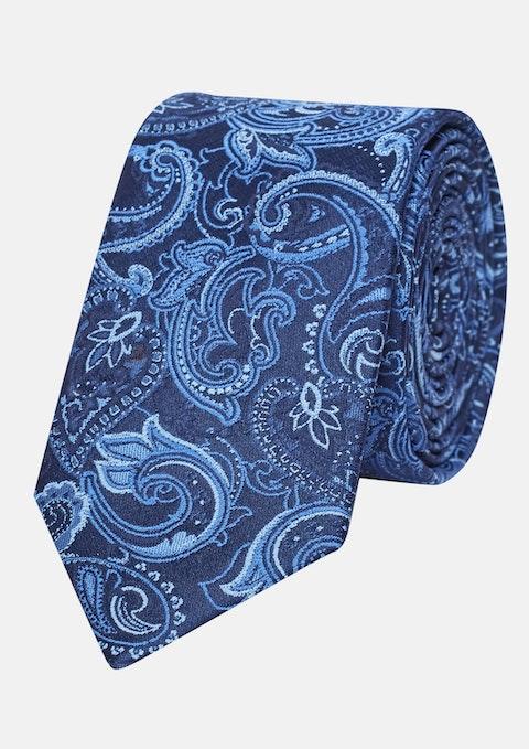 Blue Paisley 6cm Tie
