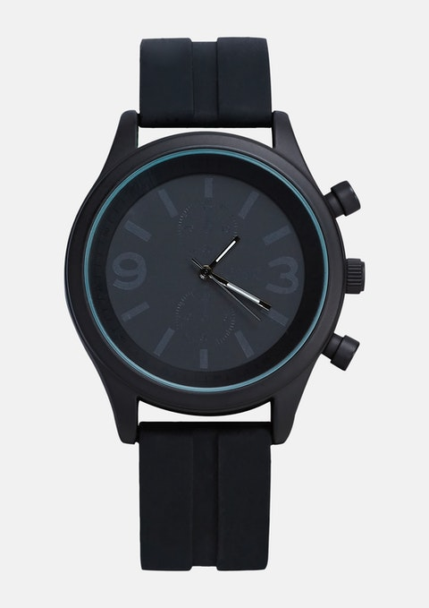 Black Jimmy Watch