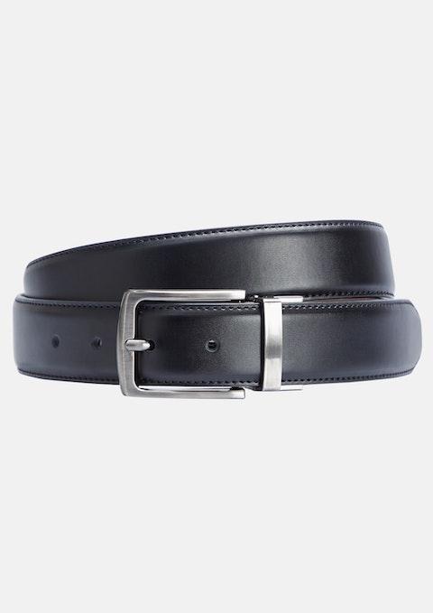 Black Tan Archer Reversible Belt