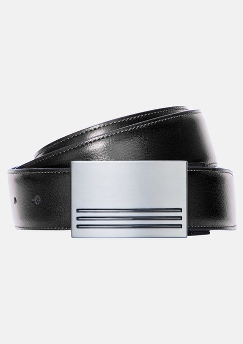 Black Tan Brodrick Reversible Belt