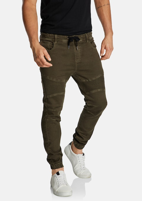 Military Cyber Cuffed Jogger