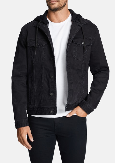 Black Karter Denim Jacket