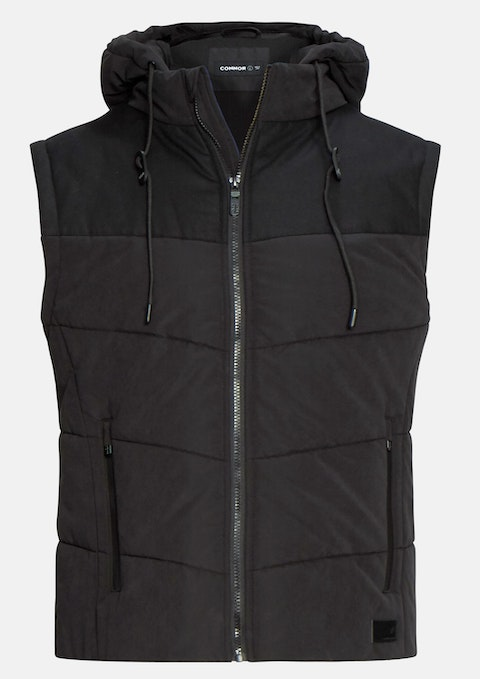 Black Owen Puffer Jacket
