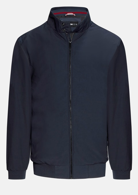 Navy Harvey Jacket