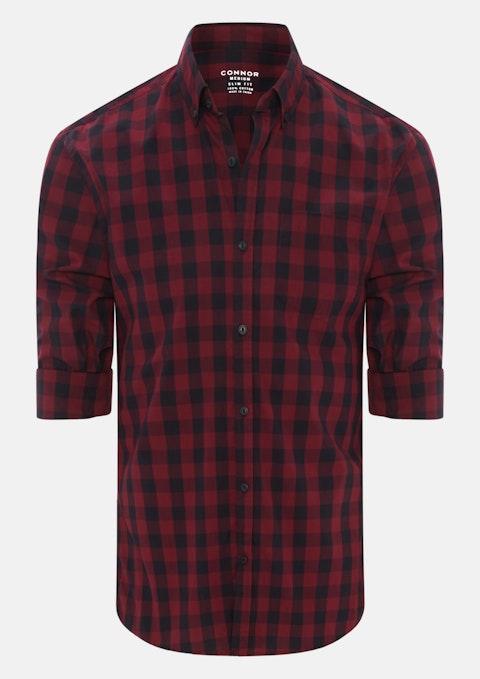 Red Orlando Slim Casual Shirt