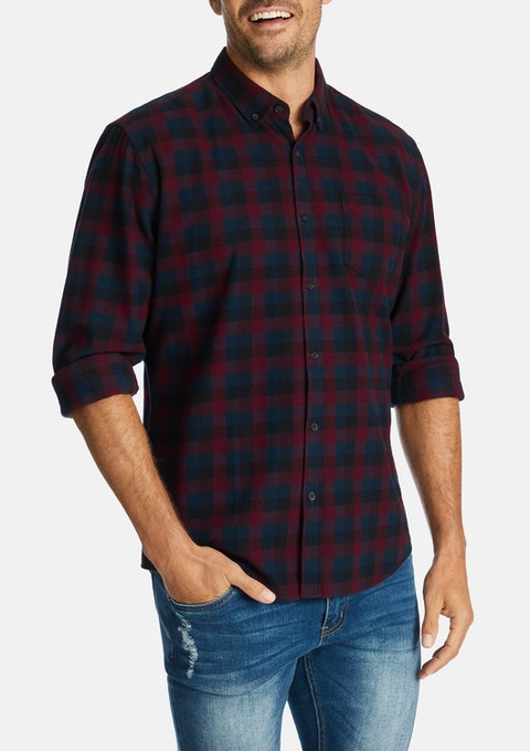 Wine Banning Casual Shirt