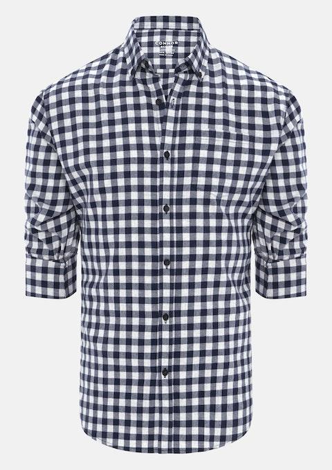 Navy Buster Casual Shirt