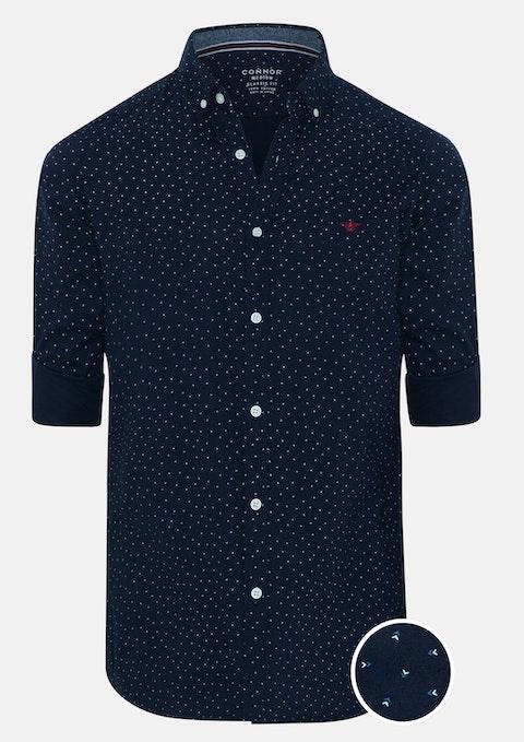 Navy Romeo Casual Shirt