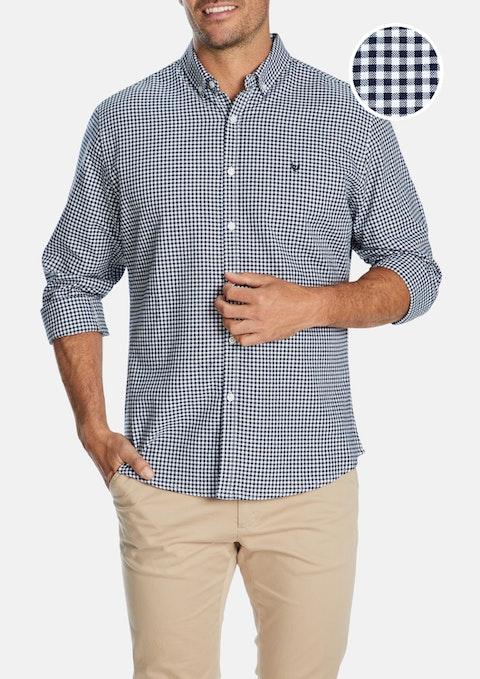 Ink Falcon Check Print Casual Shirt