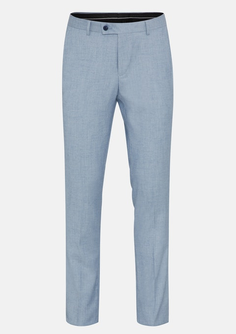 Light Blue Tribeca Slim Dress Pant