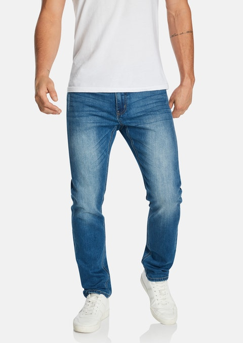 Blue Cabra Tapered Jean