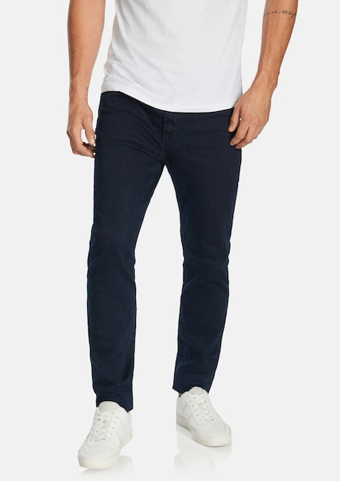Dark Blue Sebastian Slim Jean