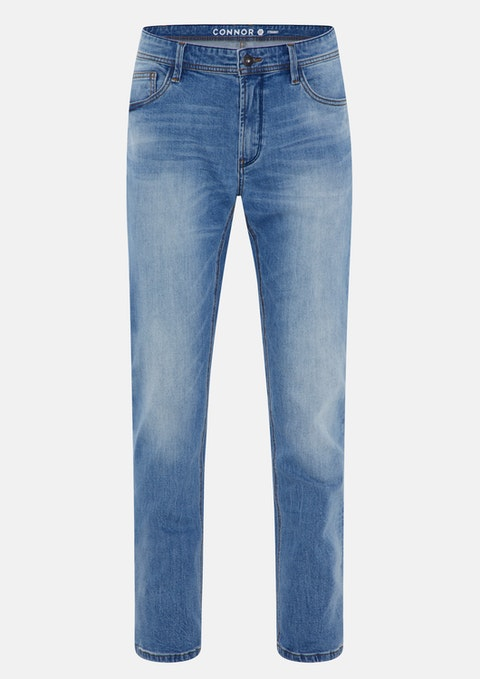 Light Blue Newry Straight Jean