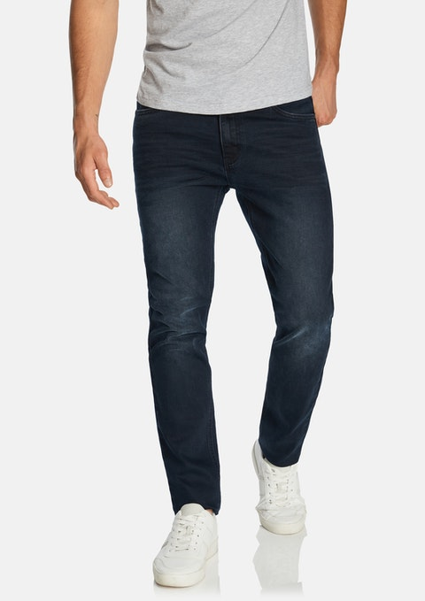 Dark Blue Amos Slim Jean