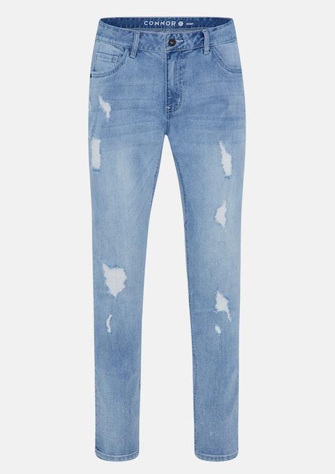 Light Blue Dakota Skinny Ripped Jean