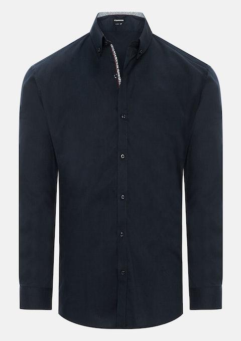 Navy Ipswich Slim Dress Shirt