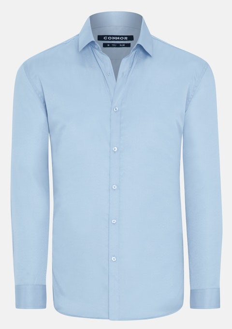 Sky Albert Slim Dress Shirt