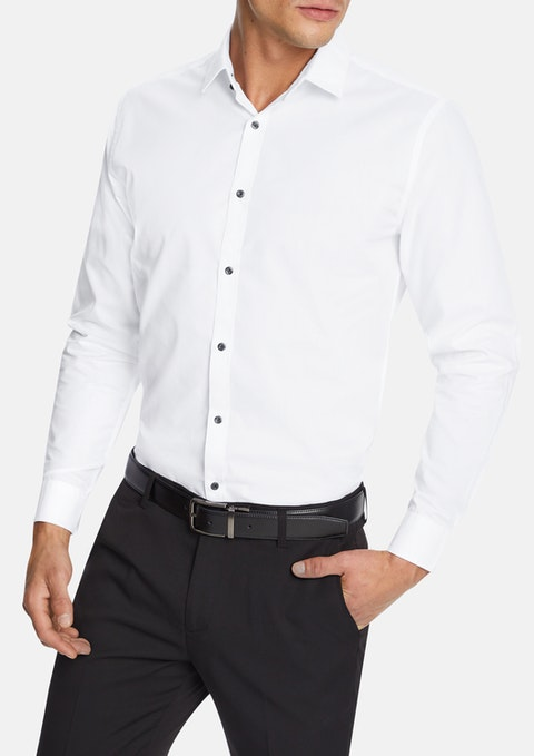 White Jaxon Dress Shirt