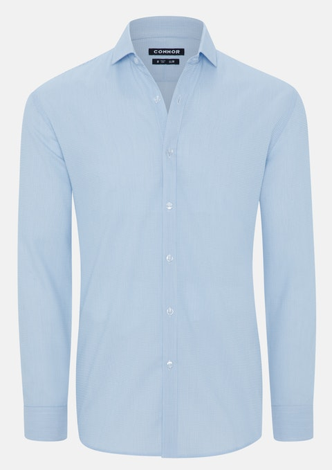 Light Blue Joel Slim Dress Shirt