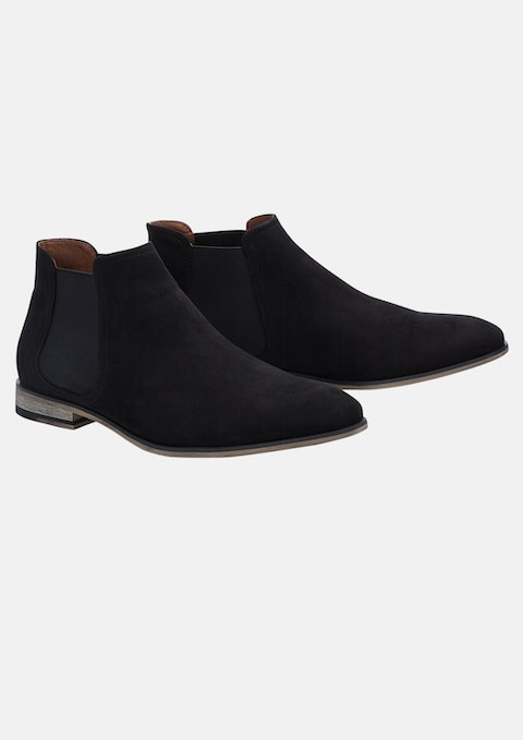 Black Crosby Boot