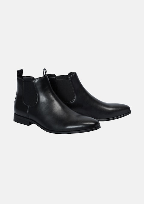 Black Baker Boot