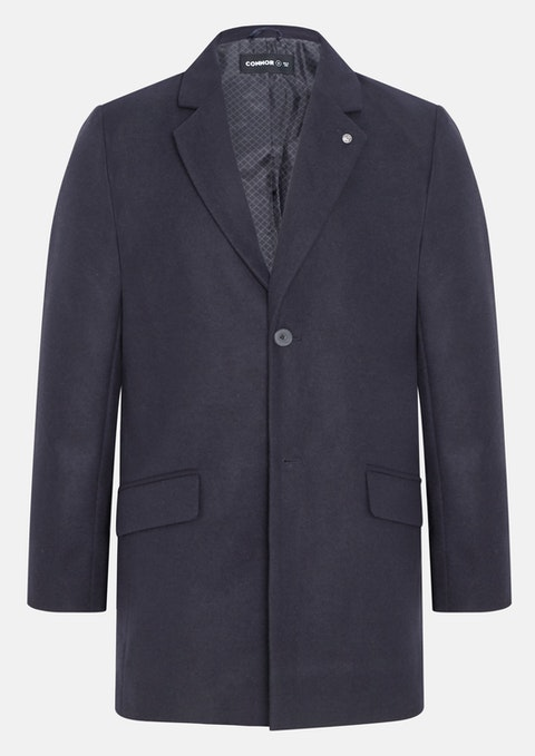 Navy Ashbourne Coat