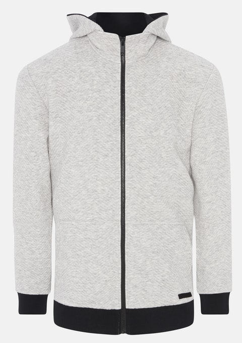 Silver Harper Sweat Jacket
