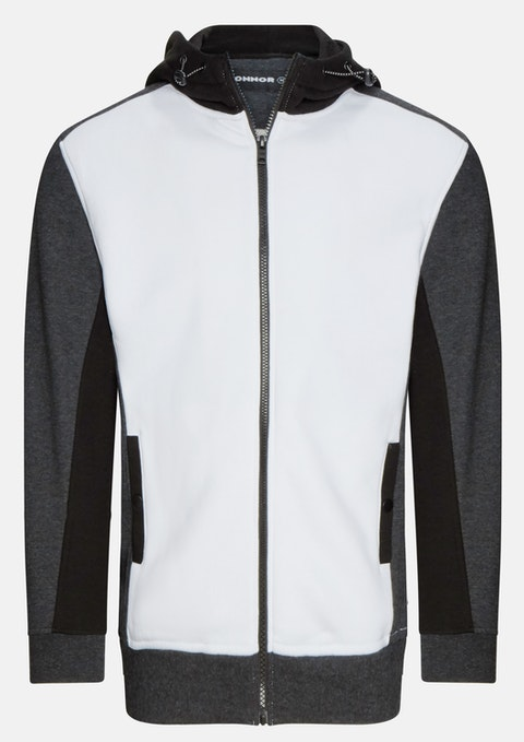 White Holloway Sweat Hoodie