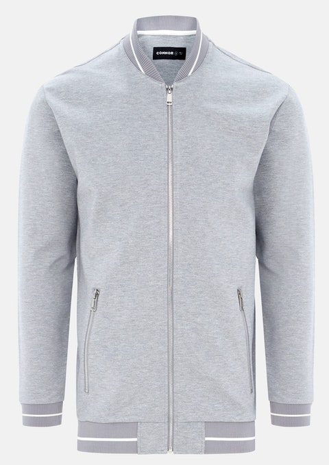 Grey Orwell Sweat Jacket