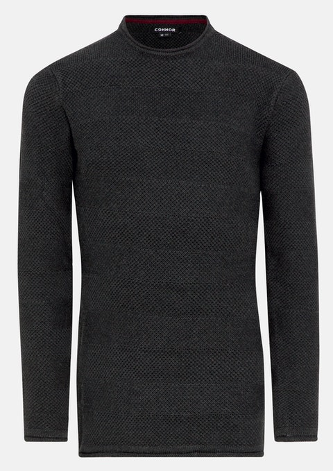 Charcoal Maclean Knit