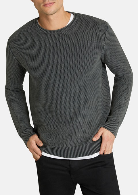 Green Newport Knit