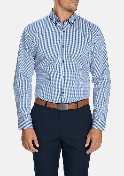 Blue Brighton Stretch Shirt