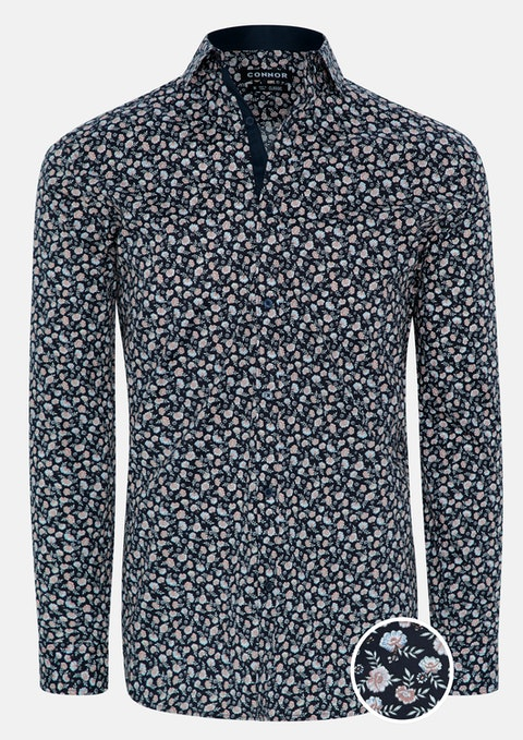 Navy Quinton Shirt