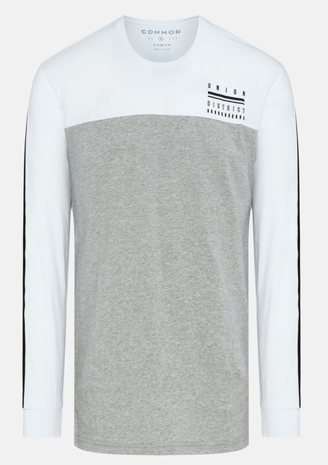 Grey Scott Long Top